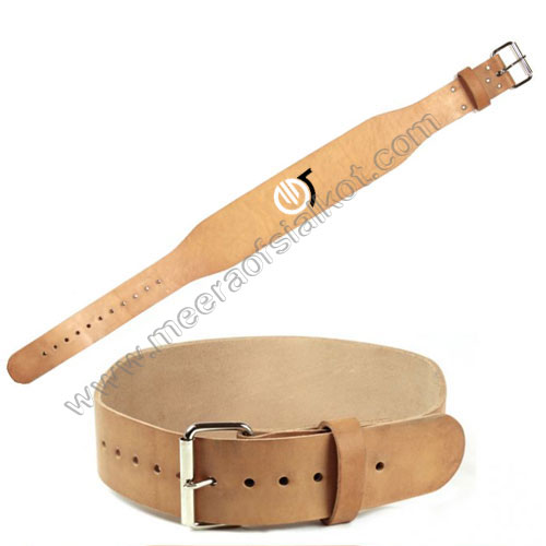 Weight Lifting Leather Belts